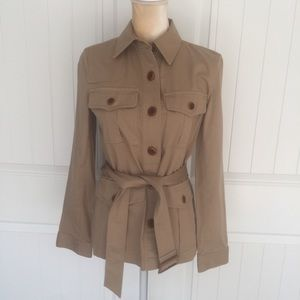 Ralph Lauren military trench style jacket size SP